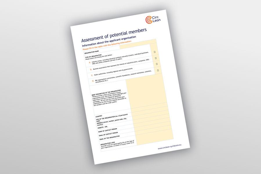 Assessment of potential members