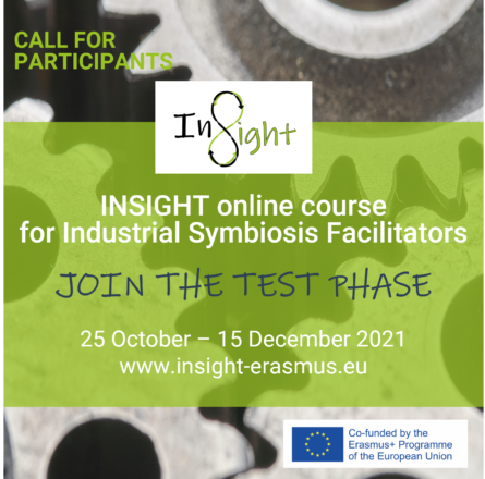 Call for participants: Test the upcoming INSIGHT online course for Industrial Symbiosis Facilitators